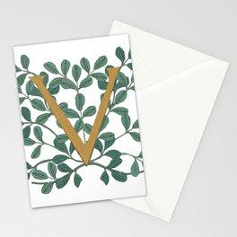Forest Letter V Lite 2020 Stationery Cards