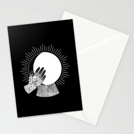 Waxing Gibbous Stationery Cards