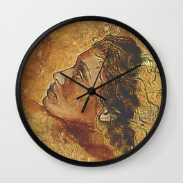 Yearning~ Woman Wall Clock