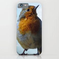 Fluffy Robin Redbreast Slim Case iPhone 6s