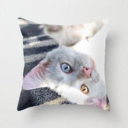 Beautifully Odd  Throw Pillow