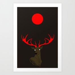 Abendrot Art Print