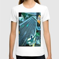swimming T-shirts featuring Swimming by Robin Curtiss