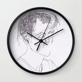 Mind Body Problem Wall Clock