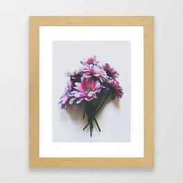 Daisy Bouquet Framed Art Print