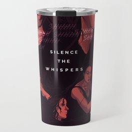 TWD Silence the Whispers Travel Mug