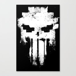 Space Punisher Canvas Print