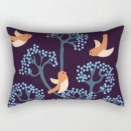 Birds Are singing Rectangular Pillow