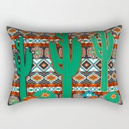 Southwest Cactus Rectangular Pillow