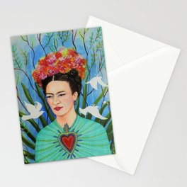 elevar my corazon Stationery Cards
