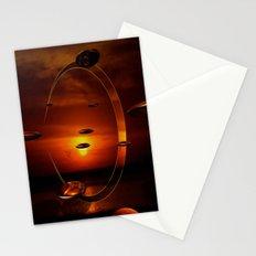 Exploding Sunset Stationery Cards
