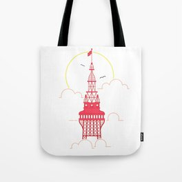The Blackpool Tower Tote Bag