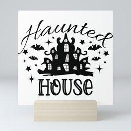 Happy Halloween 2020 Cemetery Mini Art Print