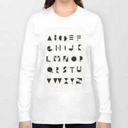 Typography #1 Long Sleeve T-shirt