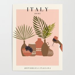 Italy Exhibition Poster