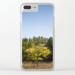 Fall Flavour Clear iPhone Case