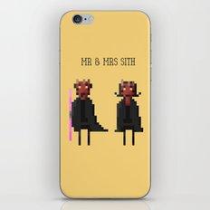 Mr & Mrs Sith iPhone & iPod Skin