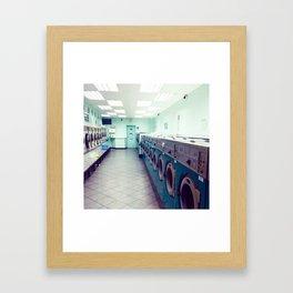Laundry Store Framed Art Print