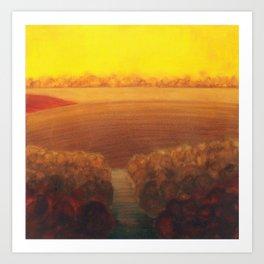 land study seven Art Print