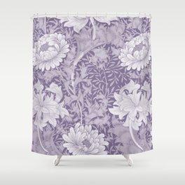 William Morris Chrysanthemum 6 Shower Curtain