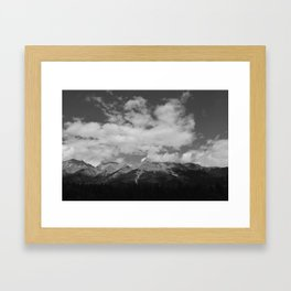 There is Terror in the Sky Framed Art Print