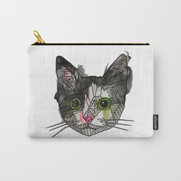 Geometric Rescue Cat Carry-All Pouch