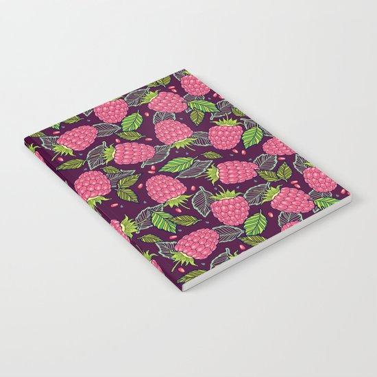 Juicy raspberries Notebook