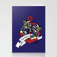 rebel Stationery Cards featuring Rebel! by Double Trouble