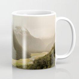 Grassy Mountain Valley, Routeburn Track, New Zealand Coffee Mug