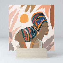 Women with the Turbans Mini Art Print