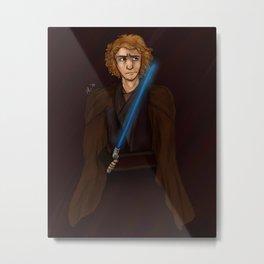 Anakin Skywalker Metal Print