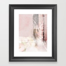 stiches Framed Art Print