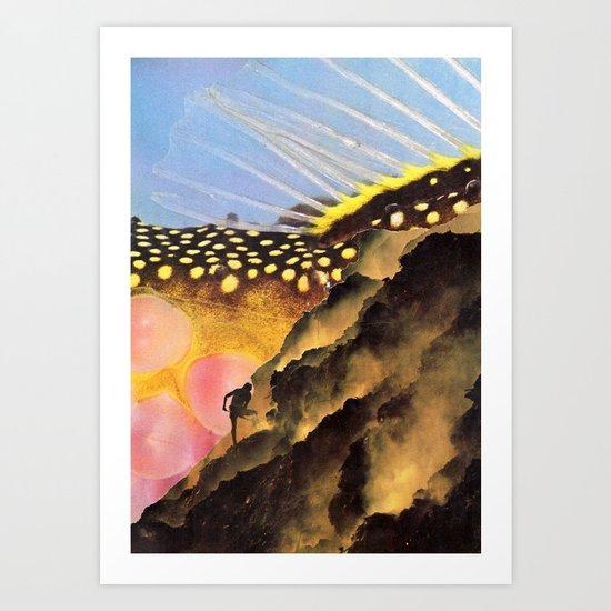 Collabs (VACANCY zine) Art Print