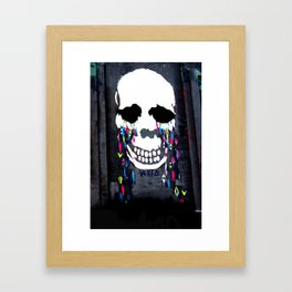 Crying Colors Framed Art Print