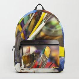 Color the clown Backpack