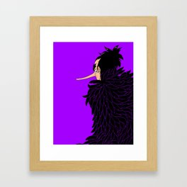 Karasu the Tengu Framed Art Print