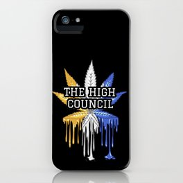 The High Council iPhone Case