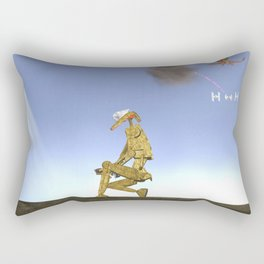 War Stars: Pew Pew Pew Rectangular Pillow