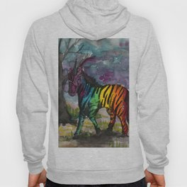 unicorn zebra Hoody