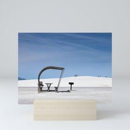 White Sands Shade Mini Art Print