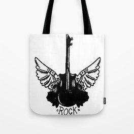 Rock guitar , custom gift design Tote Bag
