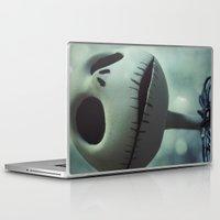 nightmare before christmas Laptop & iPad Skins featuring Jack Skellington (Nightmare Before Christmas) by LT-Arts