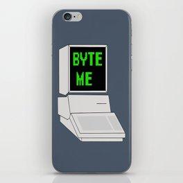 Byte Me iPhone Skin