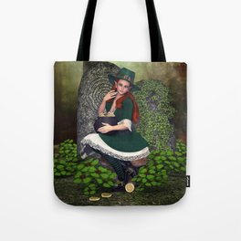 Leprechaun Lass Tote Bag