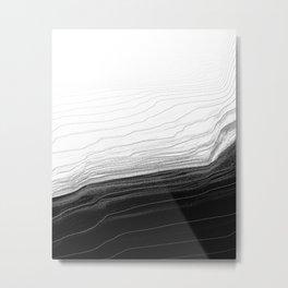 Feels Metal Print