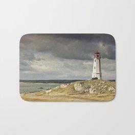 Louisbourg Lighthouse Bath Mat