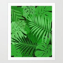 Rain Forest #6 Art Print