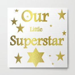Superstar Glam Metal Print