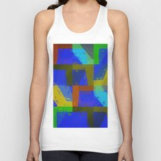 Colorful Truth. Blue. Unisex Tank Top