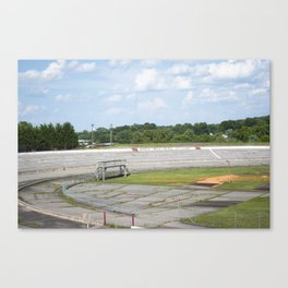North Wilkesboro Speedway (NASCAR Track) Canvas Print